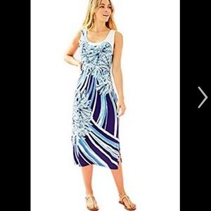 Lilly Pulitzer Mercer Midi Dress size M